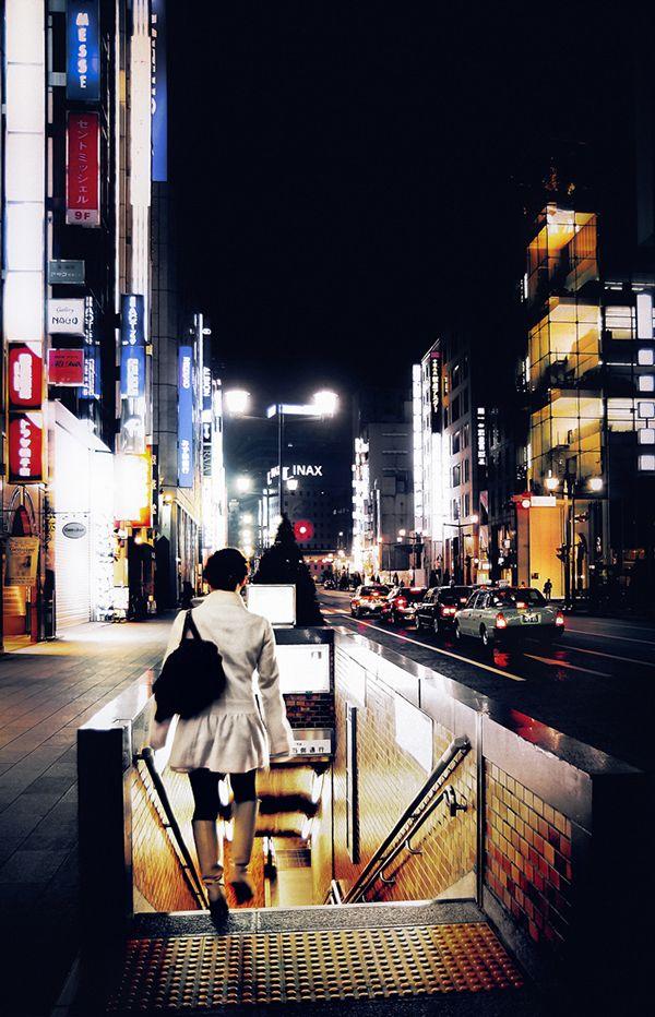 street, tokyo underground ginza   tokyo © Mitja Kobal