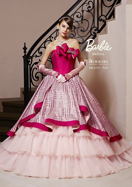 Pin by chocolady on beautiful dresses pinterest for How to make a barbie wedding dress