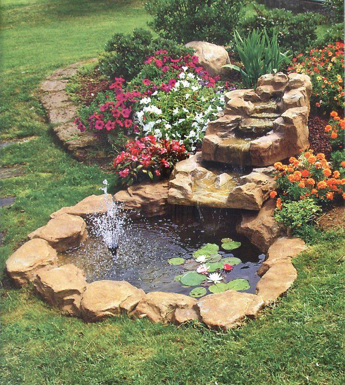 56 best laghetti e cascate images on pinterest - Fontane a cascata da giardino ...