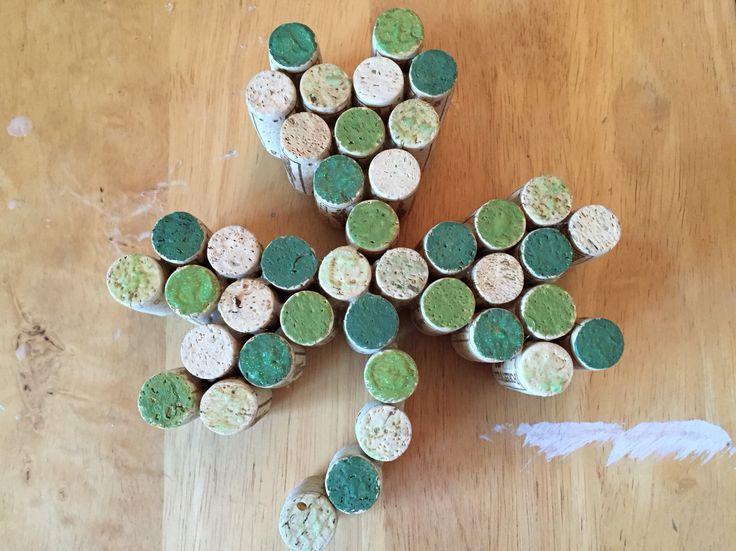 My cork shamrock