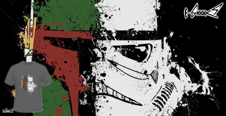 T-shirts - Design: Boba Trooper - by: Eko Nugroho Septiyanto