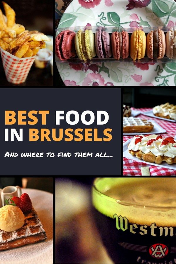 The Best Waffles, Chocolate, Frites, and Beer in Brussels, Belgium