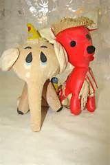 Elephant and vinyl dog