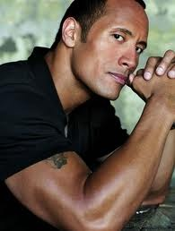 "The only ""muscle man"" I sincerely find attractive. Plus ""The Rock"" brings back LOTS of great memories from college! =)"