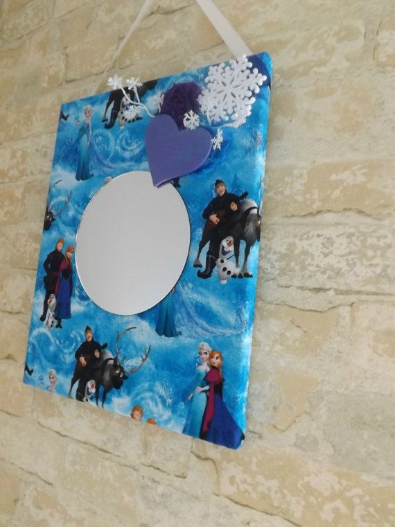 Disney Frozen Kids Mirror Room Decor by NeverGrowUp4Ever on Etsy