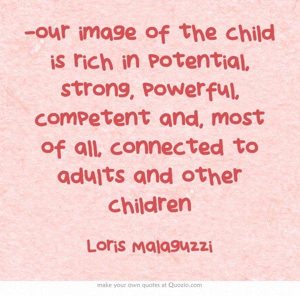 Quotes Children Education: 16 Best Reggio Education Quotes Images On Pinterest