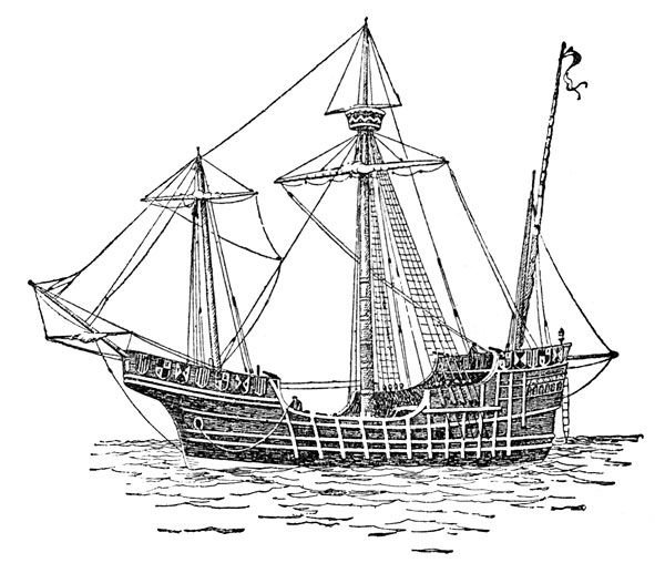 Christopher Columbus Ships:  The Santa Maria