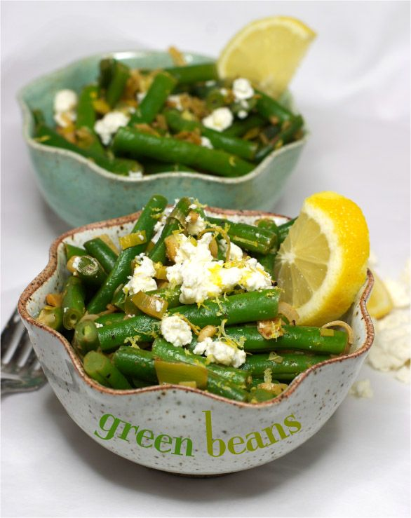 Thanksgiving green beans for holiday cooking.