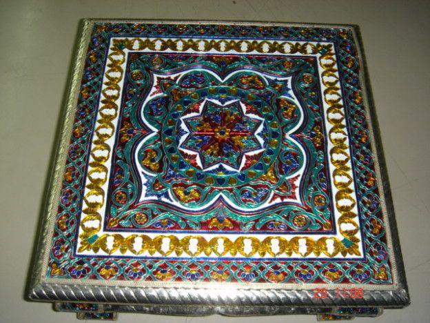 Traditional pooja stools