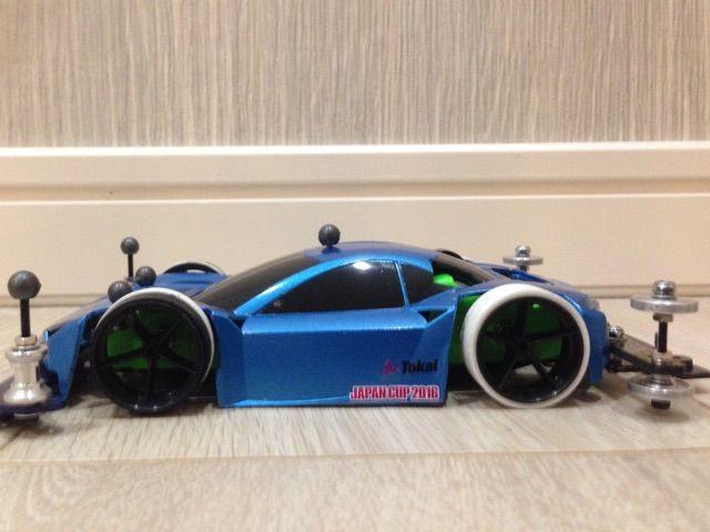 ライキリボディを持っていたので、試しに作ってみました。ARに乗せてます! もうちょい手直しして、週末には試走予定です