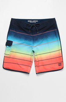 "73 X Stripe 20"" Boardshorts"