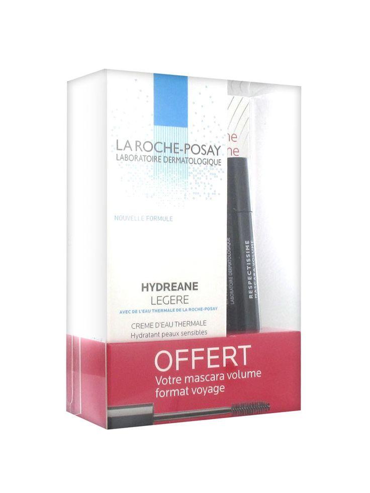 La Roche-Posay Hydreane Свет 40ml + 1 Respectissime Объем Тушь 4,5ml бесплатно € 11,25