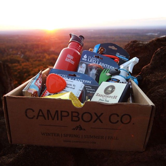 Here are nine subscription box services for men and women who love camping, outdoor adventure, and wilderness survival. Find the one that's best for you!