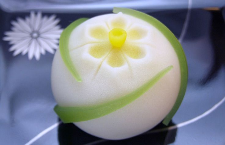 Japanese Sweets, wagashi, 水仙