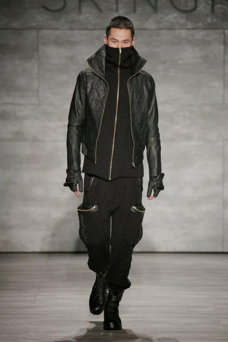 Skingraft Fall/Winter 2014 - New York Fashion Week #NYFW | Male Fashion Trends