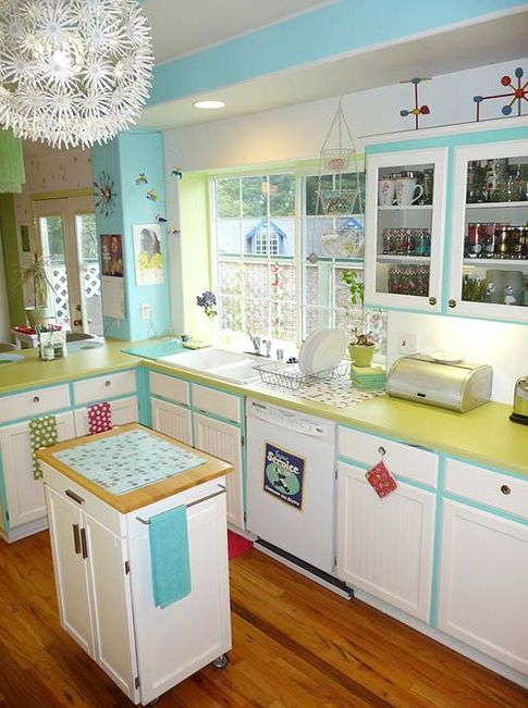 find this pin and more on tiffany blue kitchen decor ideas by involvery - Yellow Kitchen Decorating Ideas