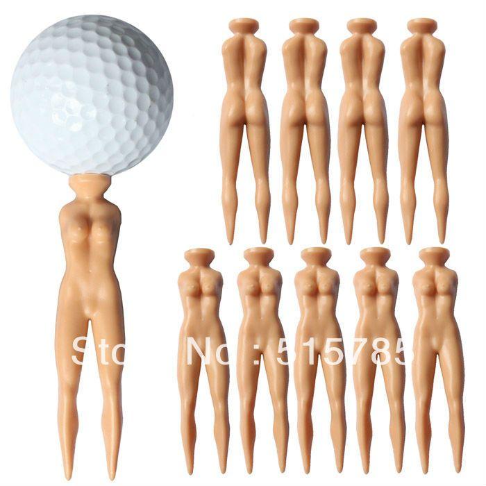 Гольф Сексуальная Девушка Новинка Шутка Тис 10 шт./компл. голые T/nv05 гольф подарки для игроков в гольф