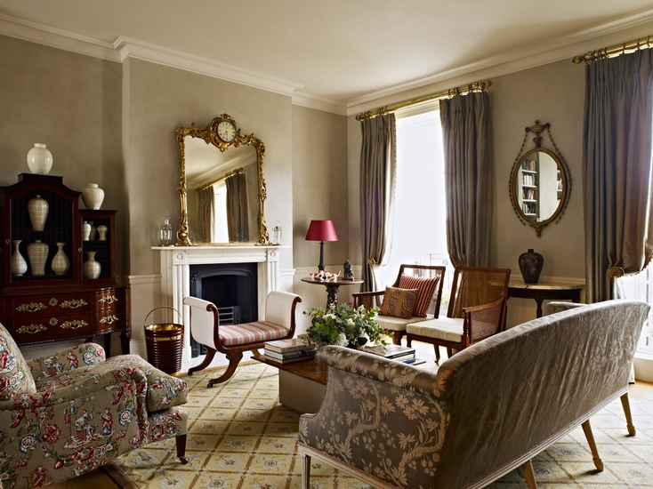 London Town House featured in Times FT 'How to Spend It' December 04 2010 - coloured by NAISMITH ROBERTSON