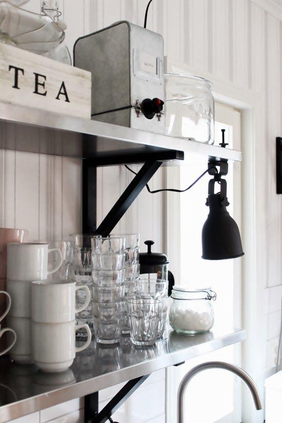 Bella och Villa Alén: Från en annan vinkel Ikea kök