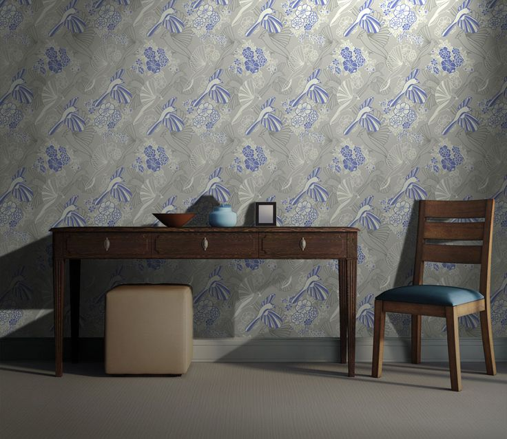 Colibri > Collezione Natural Instinct #wallpaper #mycollection #room #colour #design #home #office #living #natural #bird