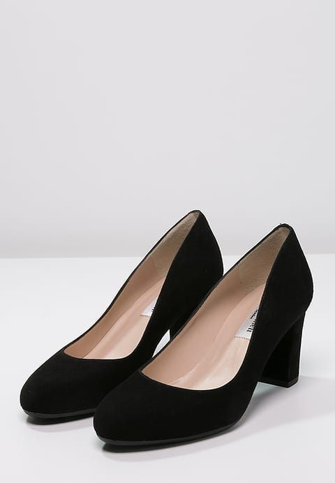 LK Bennett black suede pumps.