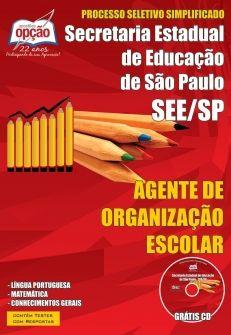Secretaria Estadual de Educação de São Paulo-AGENTE DE ORGANIZAÇÃO ESCOLAR