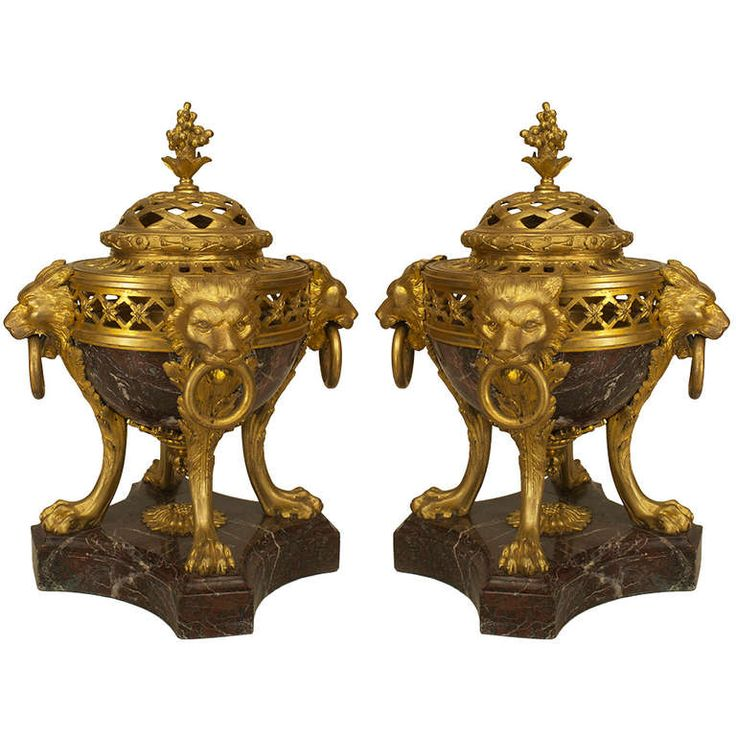 Pair of 19th Century French Bronze and Marble Compotes | From a unique collection of antique and modern platters and serveware at https://www.1stdibs.com/furniture/dining-entertaining/platters-serveware/