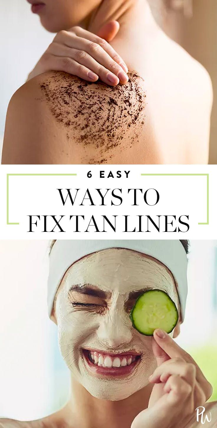 5 Easy Ways To Get Rid Of Weird Tan Lines Fast Tan Lines Tanning Skin Care Get Rid Of Tan