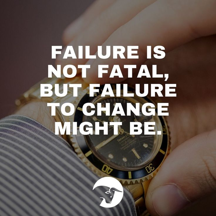What is failure if not a warning that you should change? Failure isn't a sign that you should quit -- it's a reminder that change is necessary for success. ------------------------------------------------------------------- #quote #trading #stocktrading #stocks #success #motivational #watch #failure #change #luxurywatch #rolex #luxury #failure #quoteoftheday #wordsofwisdom #foodforthought #inspiration #motivation #dontgiveup #neverstop #takeaction #nevergiveup #workhard #dontquit #life…