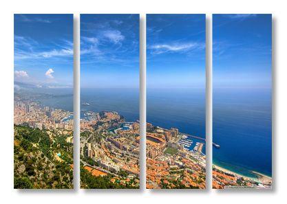 Монте Карло с высоты птичьего полёта