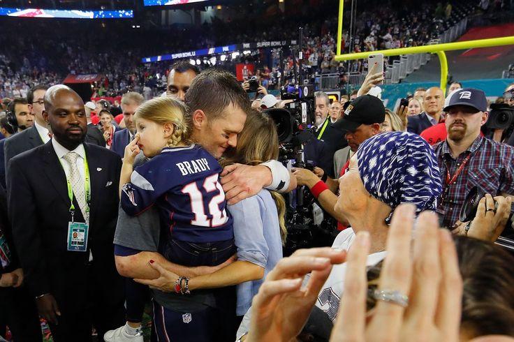 Tom Brady, la mamá de conseguir un anillo de Super Bowl