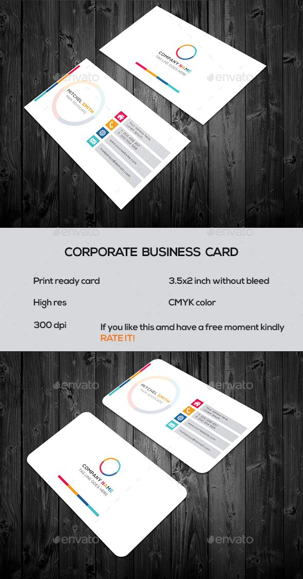 892 best business card templates images on pinterest cartes de corporate business card business cards print templates reheart Gallery