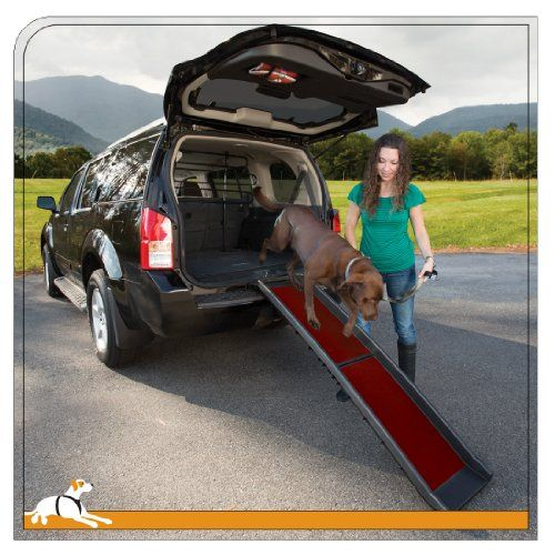 Kurgo Wander Dog Car Ramp - Lifetime Warranty >>> Click image to review more details.