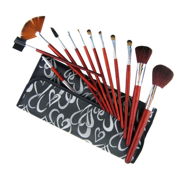 $8.40 (Buy here: https://alitems.com/g/1e8d114494ebda23ff8b16525dc3e8/?i=5&ulp=https%3A%2F%2Fwww.aliexpress.com%2Fitem%2FProfessional-Makeup-Kit-12pcs-Makeup-Brush-Set-Cosmetic-Foundation-Blending-Pencil-Brushes-Kabuk-Black-Makeup-Bag%2F32752567111.html ) Professional Makeup Kit 12pcs Makeup Brush Set Cosmetic Foundation Blending Pencil Brushes Kabuk Black Makeup Bag Beauty Brushes for just $8.40