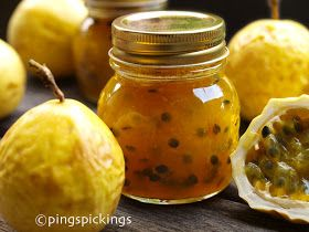 ping's pickings: Golden Passionfruit Jam