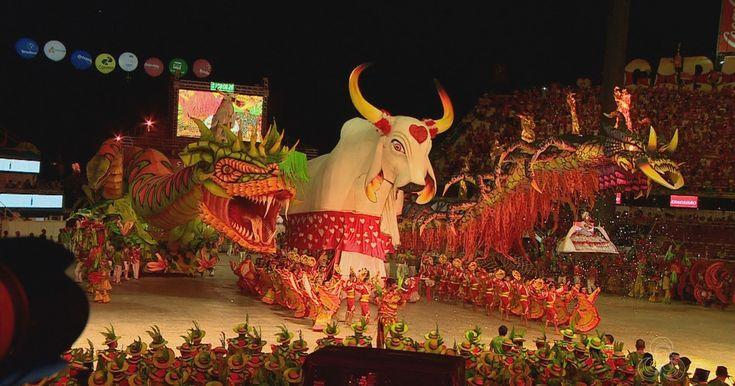 Em Parintins, Boi-bumbá Garantido vence 51º Festival Folclórico