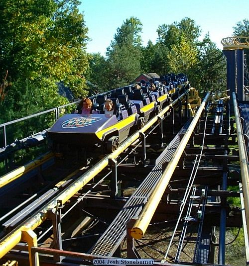 The Double Loop Coaster At Geauga Lake, Aurora OH