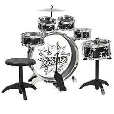 [$27.99 save 57%] Kids Drum Set Kids Toy with Cymbals Stands Throne Black Silver Boys Toy Drum Kit #LavaHot http://www.lavahotdeals.com/us/cheap/kids-drum-set-kids-toy-cymbals-stands-throne/174052?utm_source=pinterest&utm_medium=rss&utm_campaign=at_lavahotdealsus