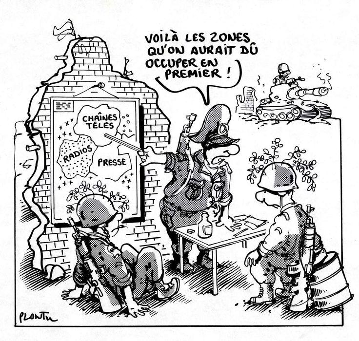 Cartooning for Peace est avant tout une association créée par Kofi Annan et Plantu en 2006. Cette association compte cent huit dessinateurs de quarante-deux nationalités différentes. Le dessin est un moyen d'expression universel. Par ce biais, elle favorise le dialogue et abat les frontières. Selon Plantu: «Là où il y a des murs de séparation, des murs d'incompréhension, il y aura toujours des dessinateurs pour les fissurer...» Le nouvel album de Reporters sans frontières qui sort cette…
