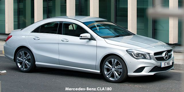 Mercedes-Benz CLA CLA180   price : R349,726.00  Engine size : 1.6L turbo Fuel type : Petrol Fuel tank range average : 893km Fuel tank capacity including reserve : 50L Max top speed : 210km/h 0-100km/h : 9.3seconds Gearbox : Auto
