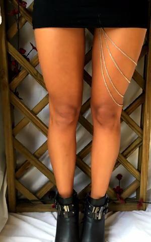 Leg Jewellery - Rogue - by Drizzle Jewellery