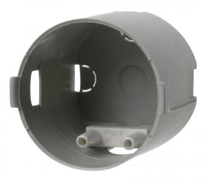 Einbaudose mit Zugentlastung 23 mm tief