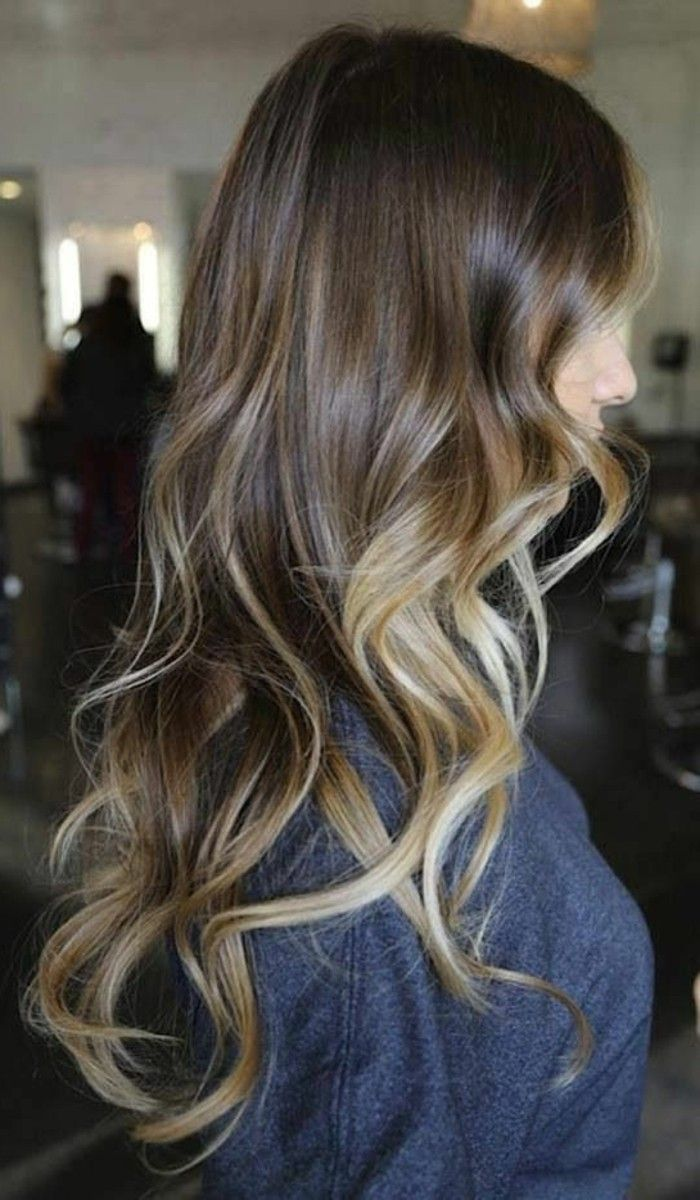 Balayage Californien Blond Polaire