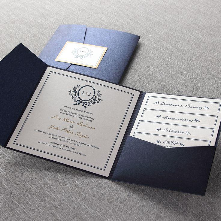 Old-Fashioned Romance I - Wedding Invitations
