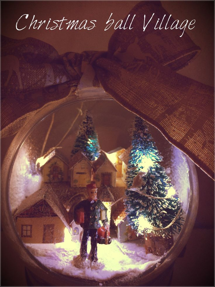 #christmas #christmasvillage #decoration