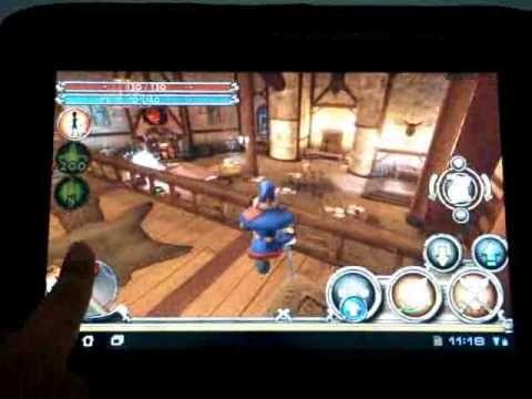 ASUS Eee Pad Transformer TF101 Gameプレイ (+playlist)