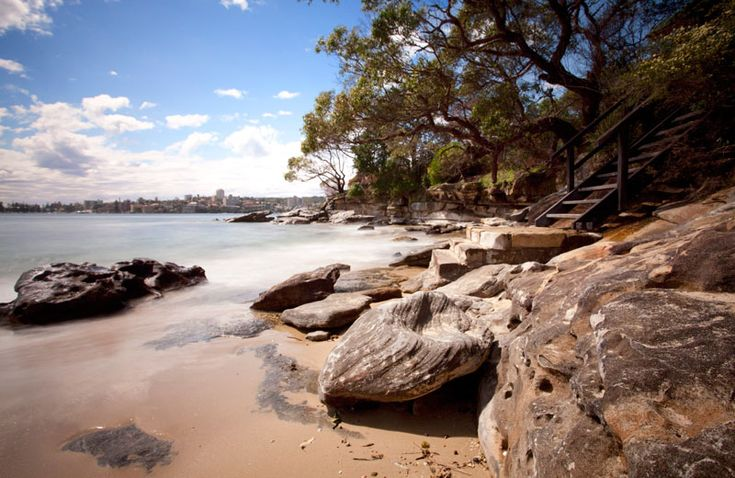 Reef Beach is a small but beautiful little spot facing Manly. It sits just east of Balgowlah Heights but far enough in the middle of Sydney Harbour National Park that it remains a modest gem. JB & DC's weekends...do love 'em <3