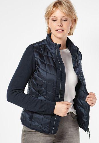 Günstige Kleidung Online Shops Cecil Steppjacke Mit Strick