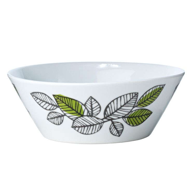 Eden skål designet av Sigrid Richter, er laget i porselen og har et vakkert design med et unikt iøyn...