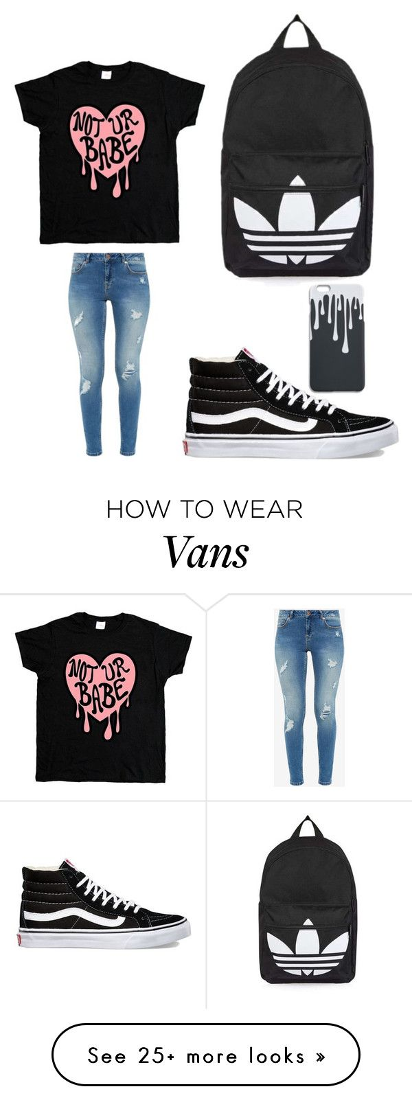 """""""Tomboy school outfit"""" by lswaine on Polyvore featuring Ted Baker, Vans and Topshop"""